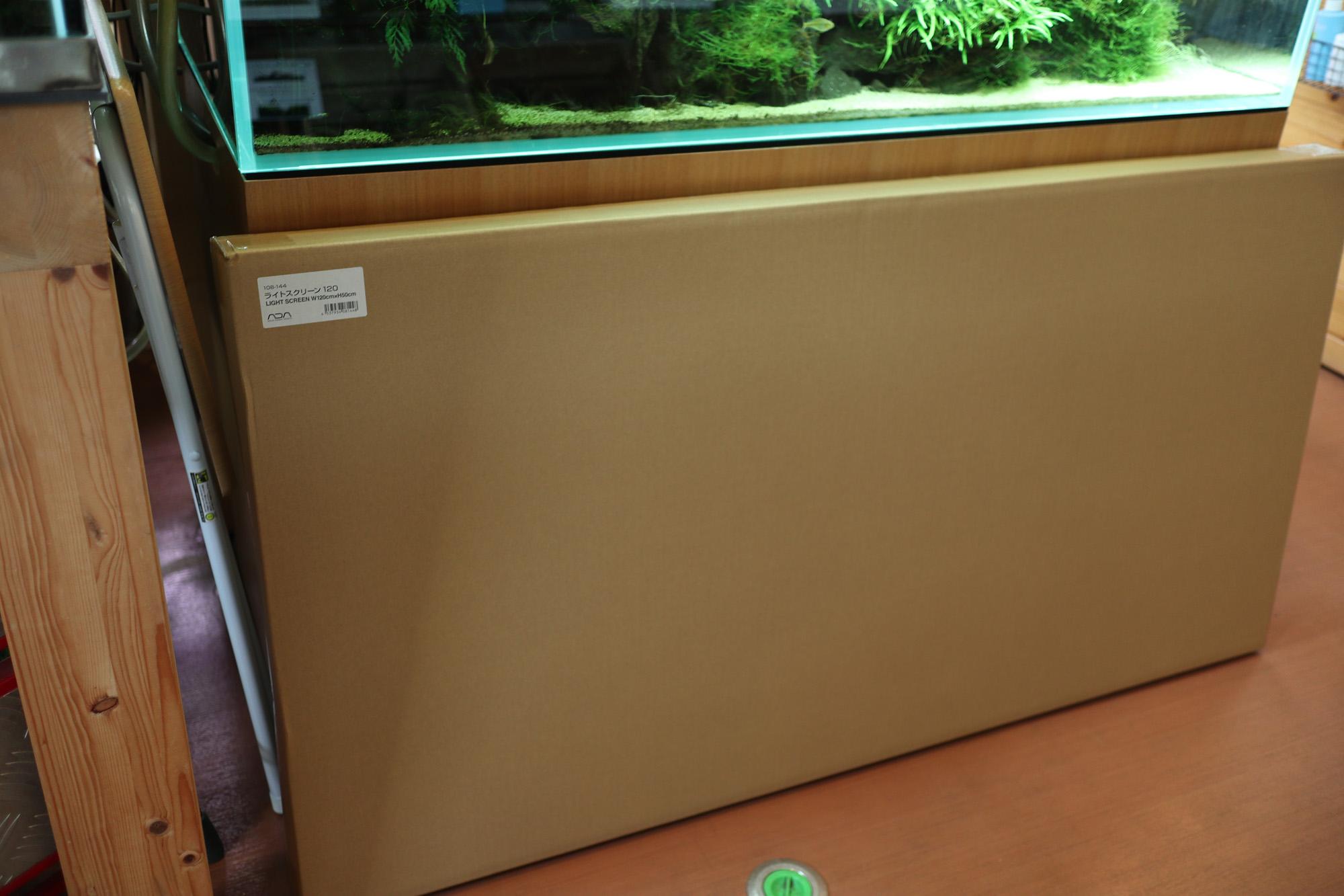 ADA組織培養水草「ADAライトスクリーン120×50×50cm水槽用 入荷。